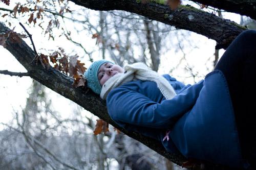 klättrar i träd coat