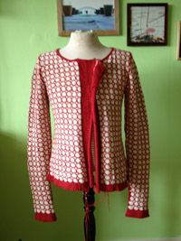 Downton cardigan docksjo
