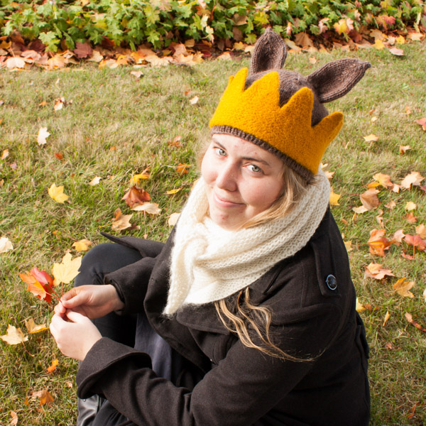 Where the wild things are hat crown