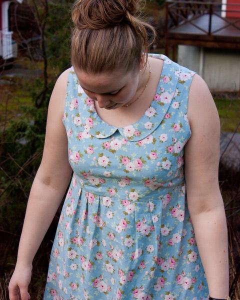 Blommig Washi dress