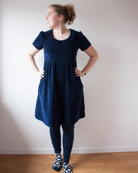 Velvet Washi dress