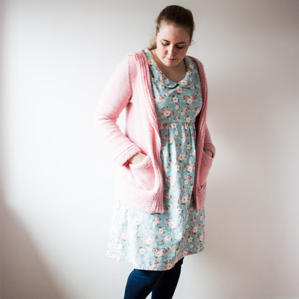 Washi dress Kerrera cardigan outfit