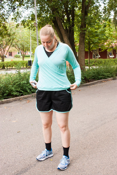 Running Coppelia Cardi Prefontaine Shorts