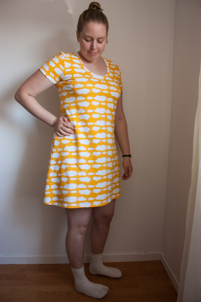 Plantian dress yellow