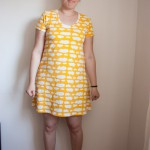 Plantian dress yellow