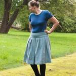 Amélie top blouse knit