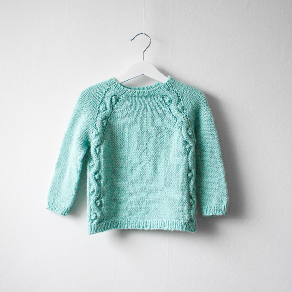 Perlemorgenser sweater mother of pearl