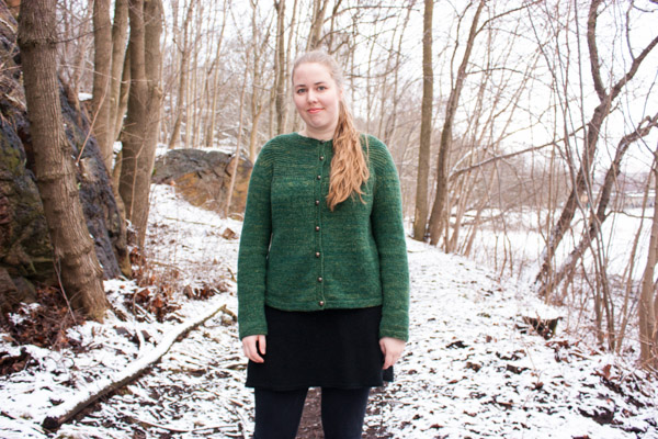 Forest cardigan Argo