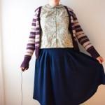 Zinnia 50's blouse