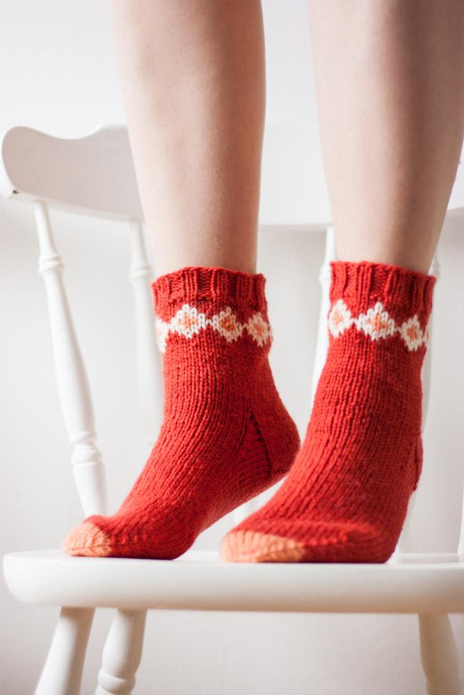 Zinnia Socks