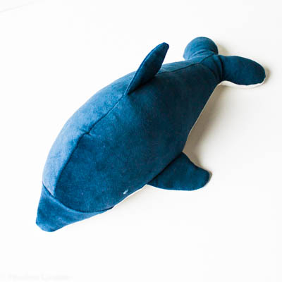 Dagmar the dolphin docksjo design