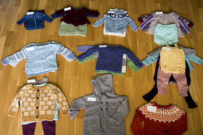 Baby knits organisation