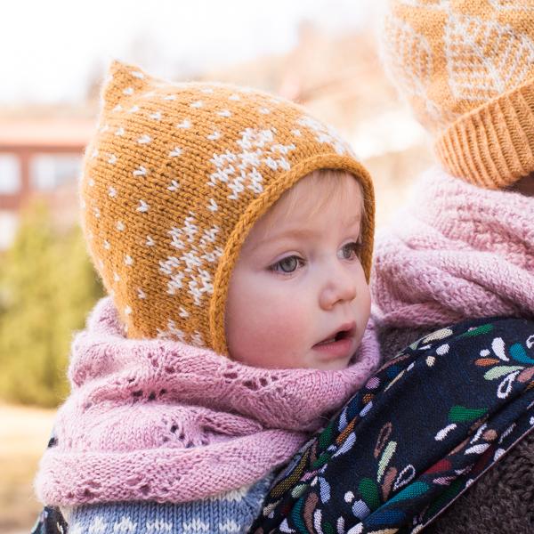 docksjo design 600-2-2 Saffran pixi hat