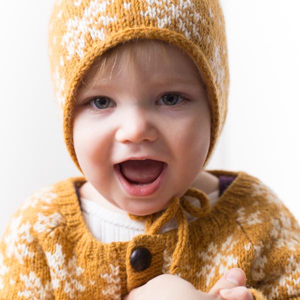 docksjo design 600-2 Saffran pixi hat