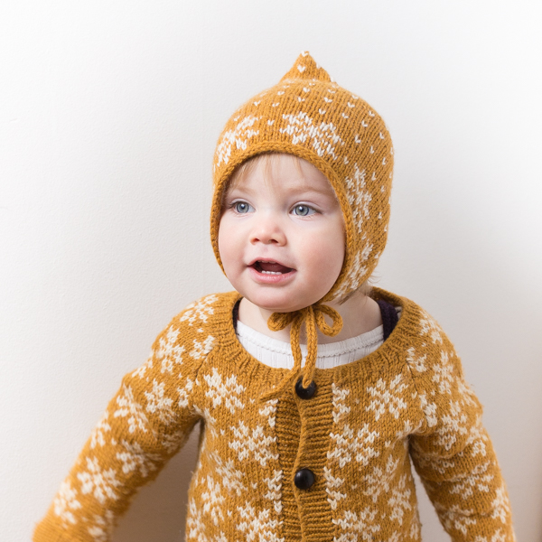 docksjo design 600-3 Saffran pixi hat